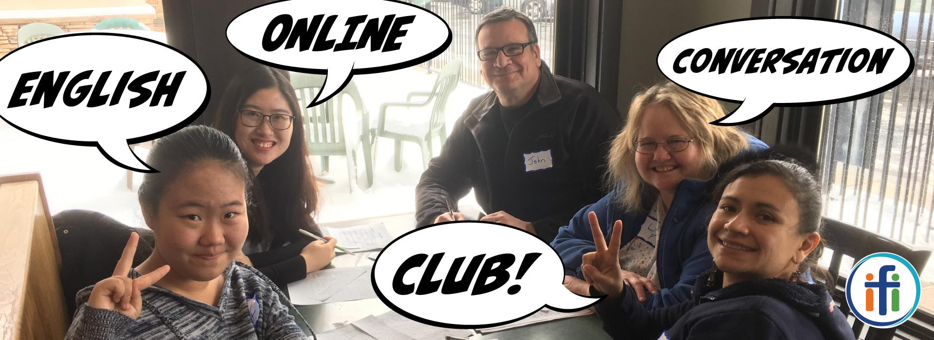 ONLINE English Conversation Club